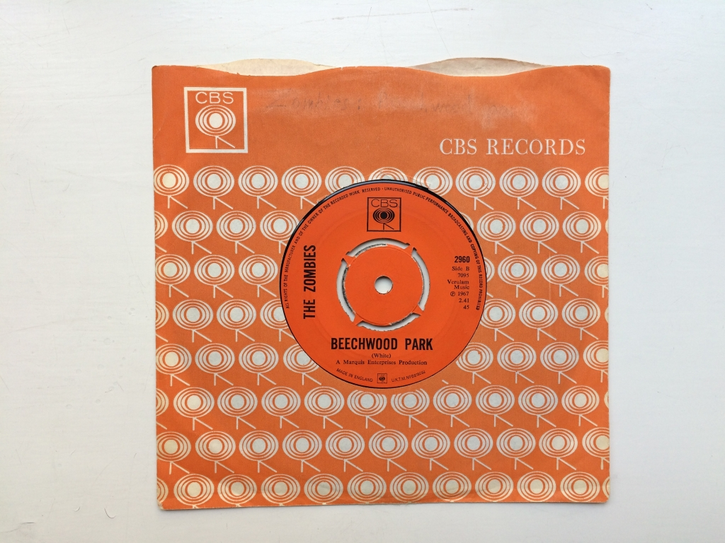 For sale: The Zombies - Friends of Mine / Beechwood Park UK 1967 CBS | Psych, Pop