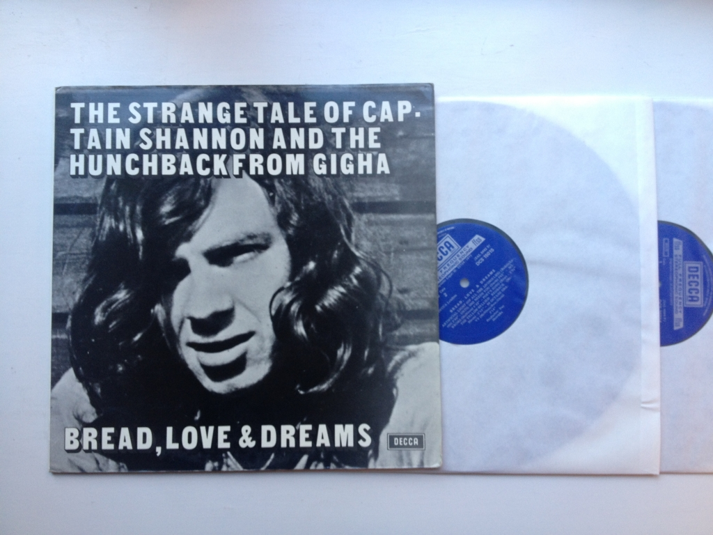 For sale: Bread, Love And Dreams - 2LP Spain 1971 Decca | Psych, Folk Rock, Acid Folk