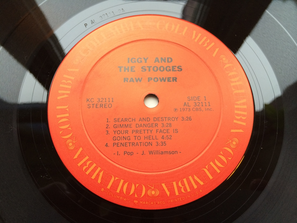 For sale: Iggy And The Stooges - Raw Power US 1973 Columbia | Garage, Rock