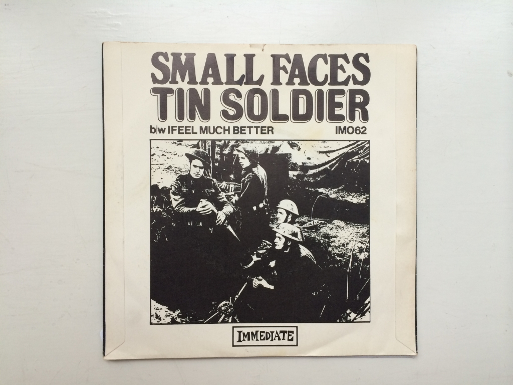 For sale: Small Faces - Tin Soldier / I Feel Much Better UK 1967 Immediate | Psych