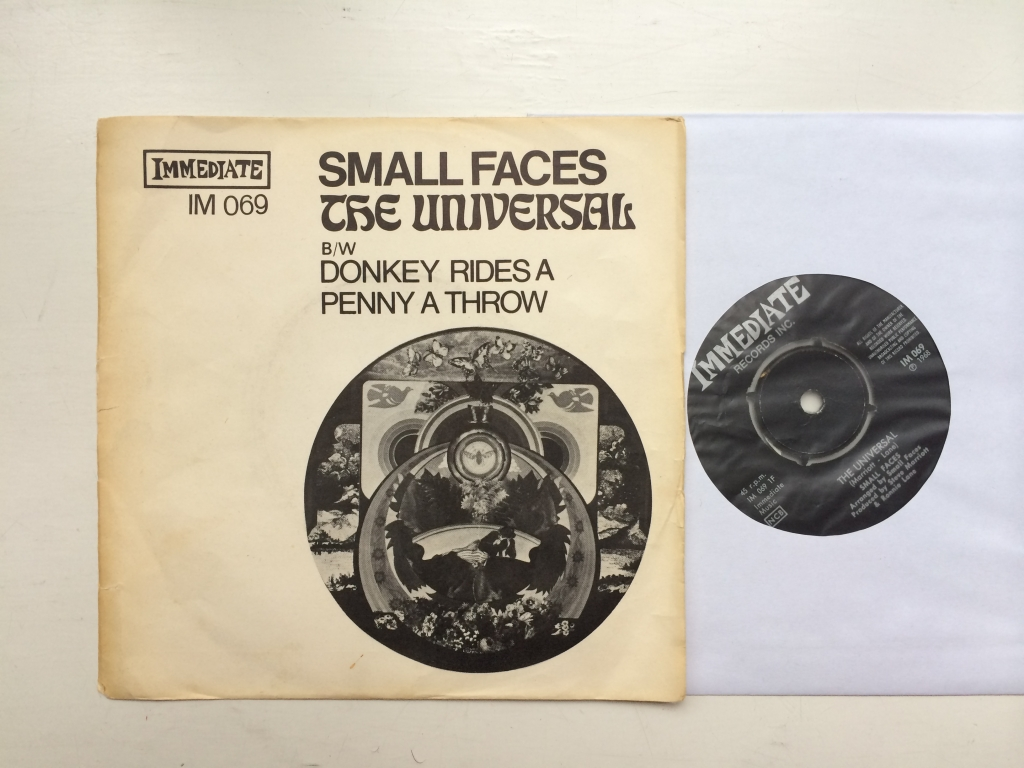 For sale: Small Faces - The Universal / Donkey Rides A Penny A T... Sweden 1968 Immediate | Psych, Mod