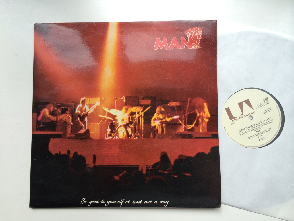 For sale: Man - Be Good To Yourself At Least Once A Day UK 1972 United Artists | Prog, Rock