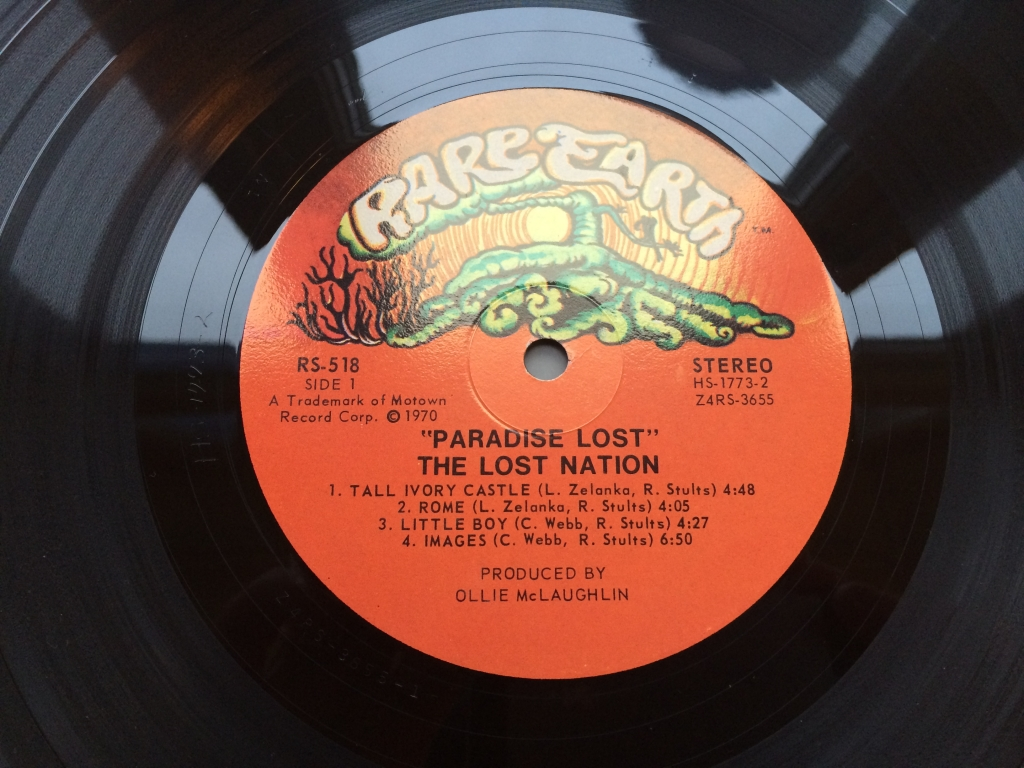 For sale: Lost Nation - Paradise Lost  US 1970 Rare Earth | Psych, Prog