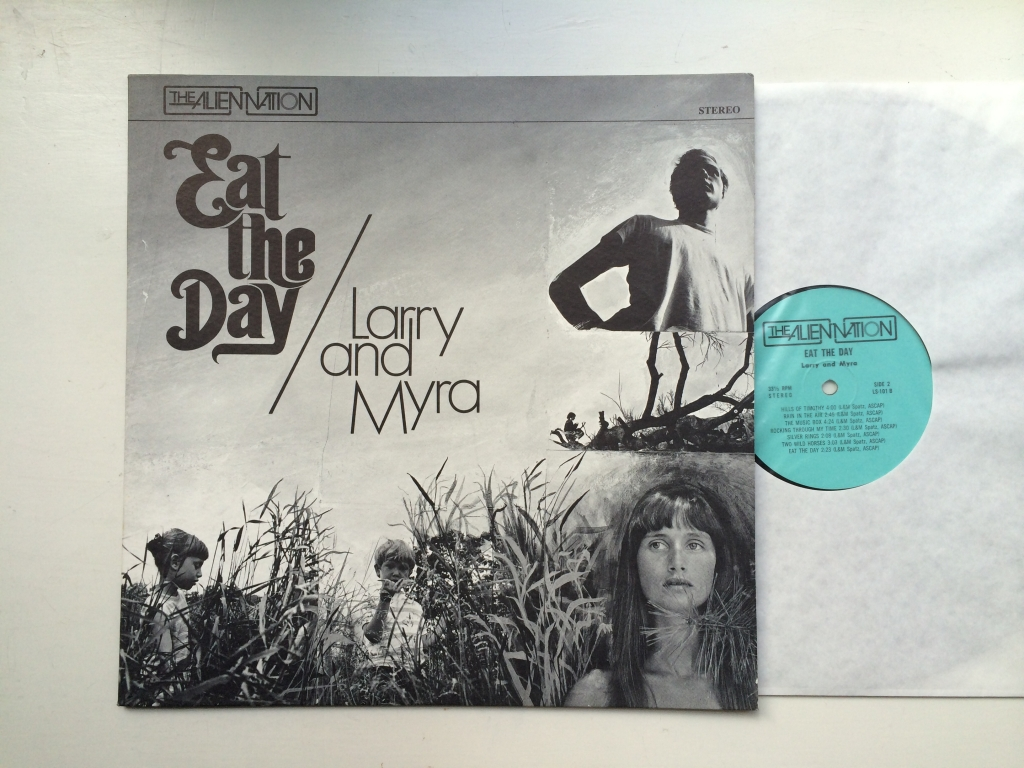 For sale: Larry And Myra - Eat The Day US 1970 The Alien Nation | Psych, Folk