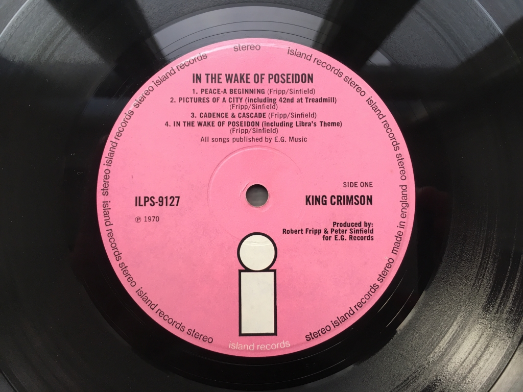 For sale: King Crimson - In The Wake Of Poseidon UK 1970 Island Records | Prog