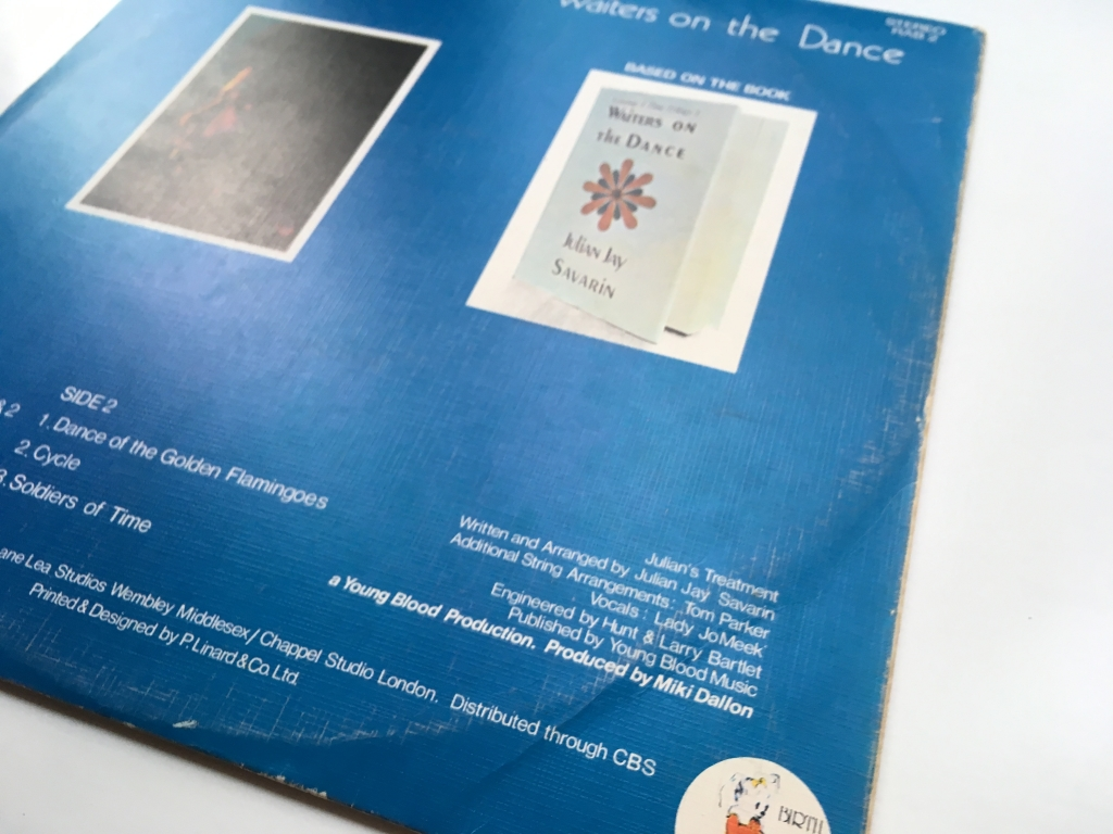 For sale: Julian Jay Savarin - Waiters On The Dance UK 1971 Birth Records | Prog