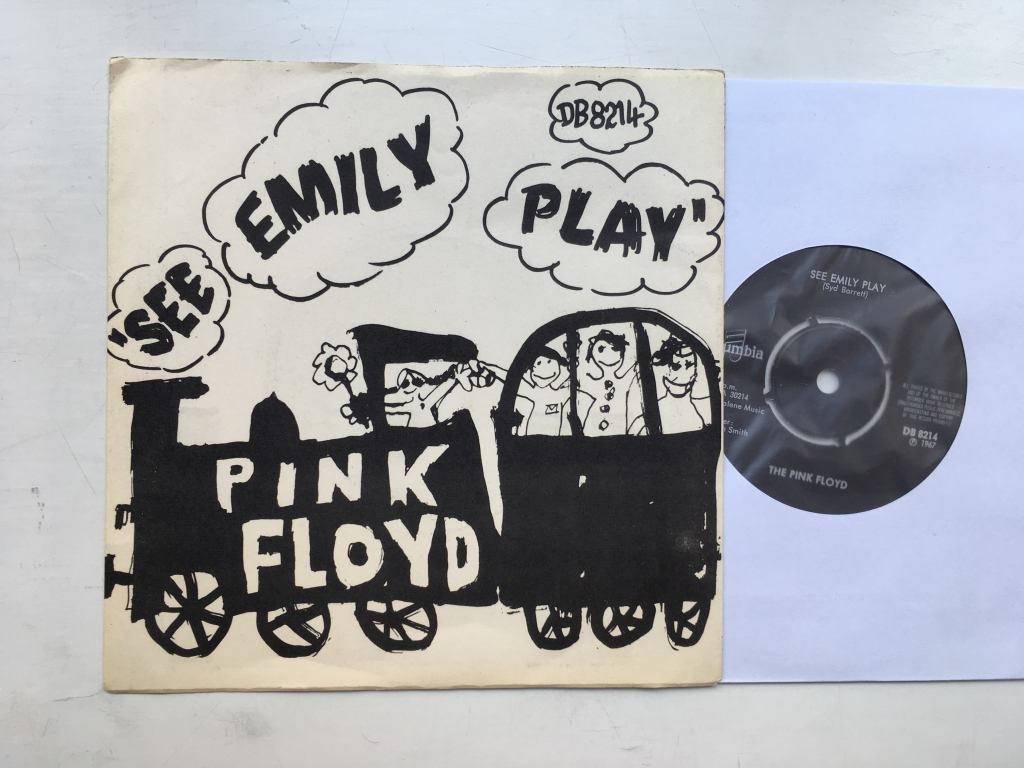 For sale: The Pink Floyd - See Emily Play Sweden 1967 Columbia | Psych