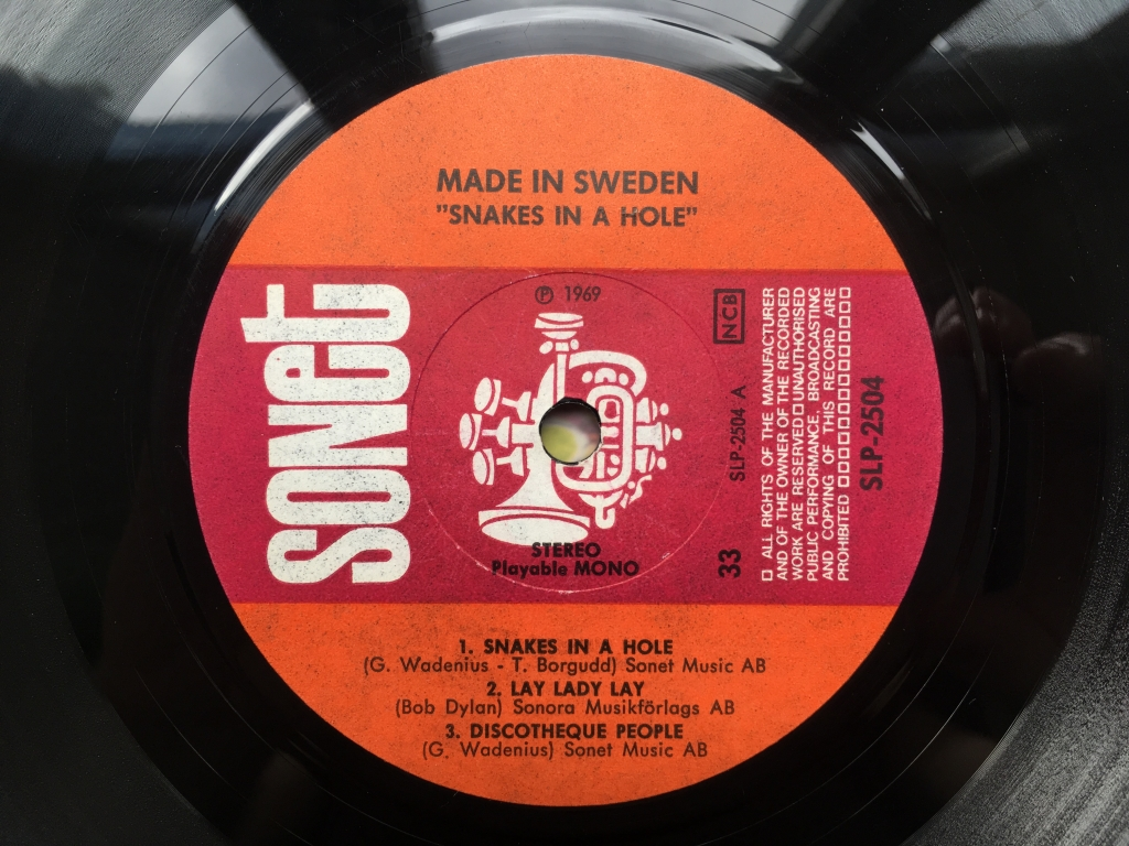 For sale: Made In Sweden - Snakes In A Hole Sweden 1969 Sonet | Prog, Folk Rock, Jazz