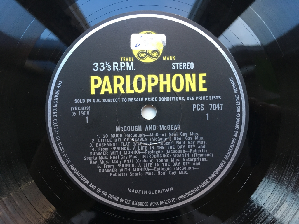 For sale: McGough & McGear - McGough & McGear UK 1967 Parlophone | Psych, Rock, Other
