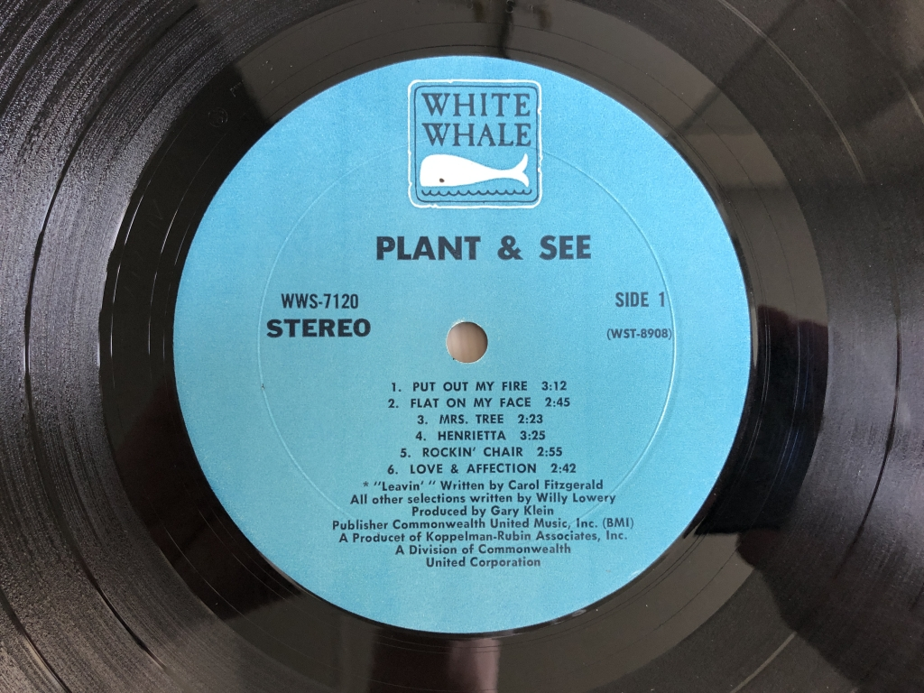 For sale: Plant And See - Plant And See US 1969 White Whale | Psych, Rock, Heavy Psych