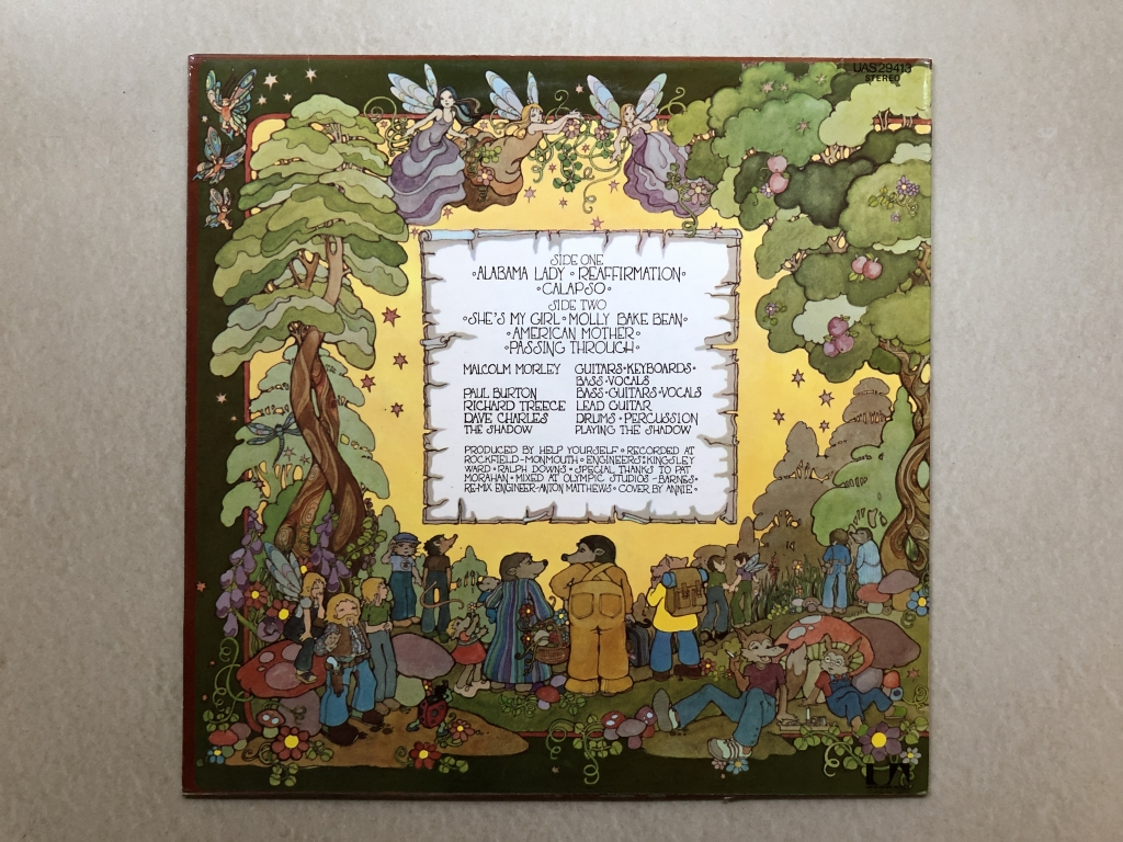 For sale: Help Yourself - Beware The Shadow UK 1972 United Artists Records | Psych, Folk Rock