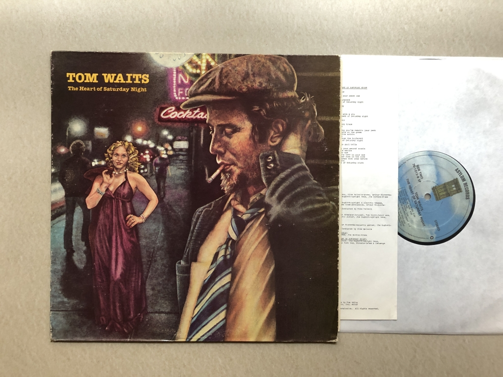 For sale: Tom Waits - The Heart Of Saturday Night US 1974 Asylum Records | Singer-songwriter