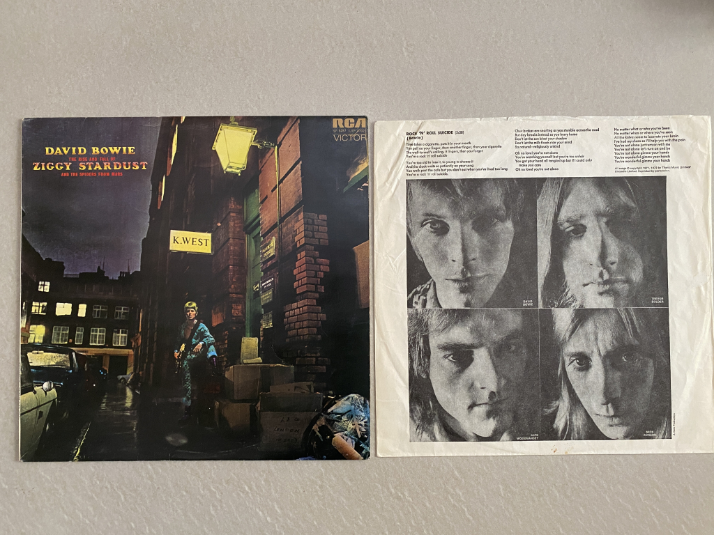For sale: David Bowie - The Rise And Fall Of Ziggy Stardust And ... UK 1972 RCA Victor | Rock, Glam