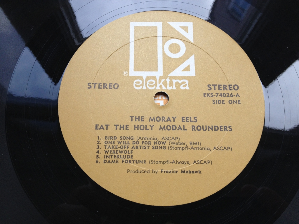 For sale: Holy Modal Rounders - The Moray Eels Eat the Holy Modal Rounde... US 1969 Elektra | Psych, Folk