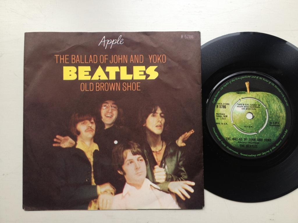 Beatles The Ballad Of John And Yoko Old Brown Uk