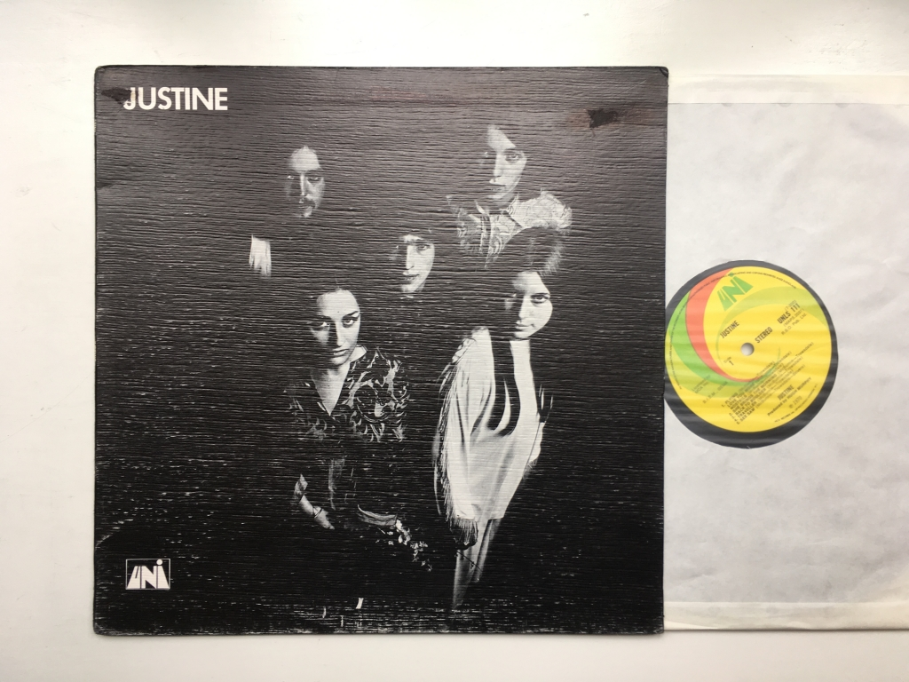 Justine - Justine (UK 1970 UNI Records UNLS 111)
