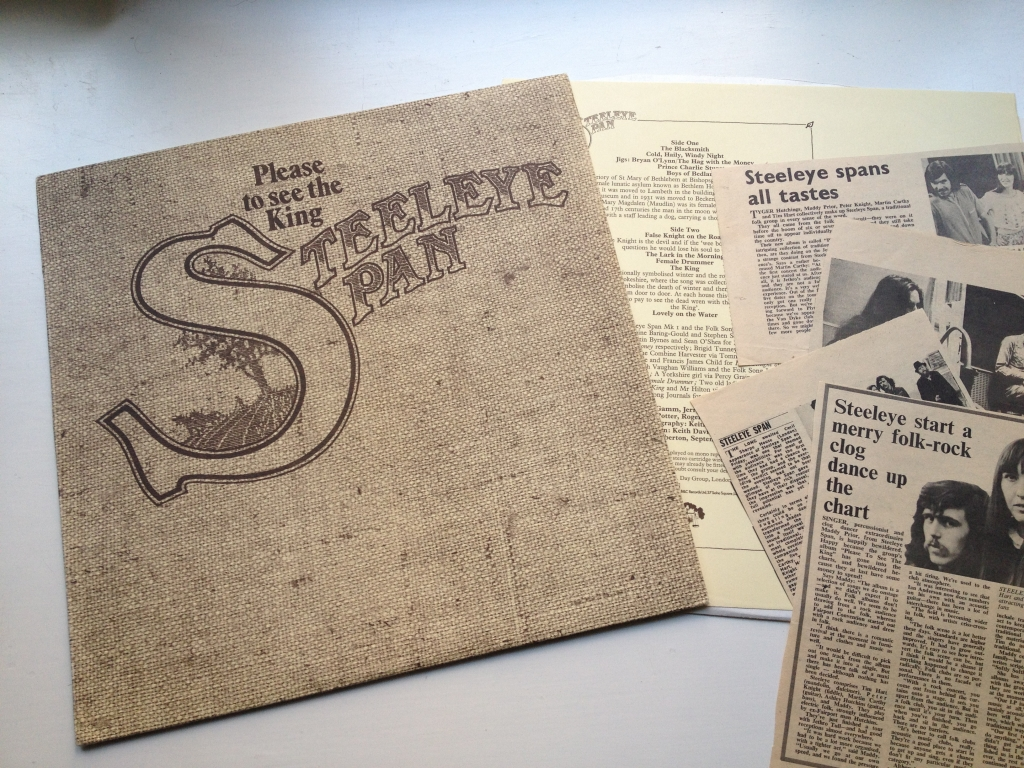 For sale: Steeleye Span - Please To See The King UK 1971 B & C Records | Folk Rock
